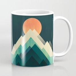 Ablaze on cold mountain Coffee Mug