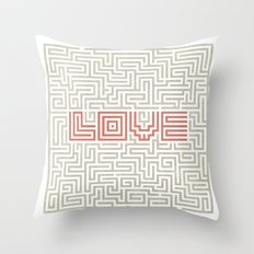 Love game Throw Pillow