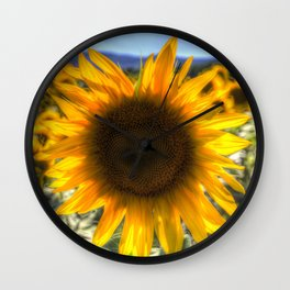 Sunflower Summer Wall Clock