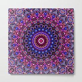 Mosaic Kaleidoscope 2 Metal Print