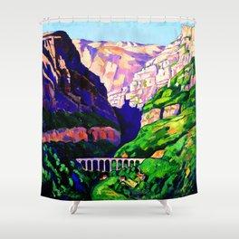 Marsden Hartley Maritime Alps Shower Curtain