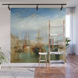 "J. M. W. Turner ""Venice, from the Porch of Madonna della Salute (The Grand Canal - Venice)"" Wall Mural"