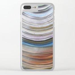 Agate close up Clear iPhone Case