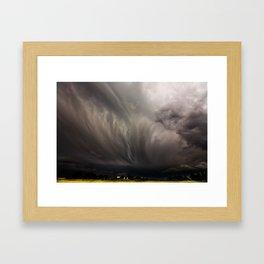 The Storm Framed Art Print