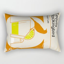 Tequila Mockingbird Rectangular Pillow