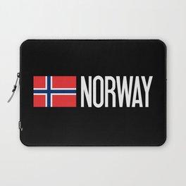 Norway: Norwegian Flag & Norway Laptop Sleeve