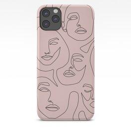 Blush Faces iPhone Case