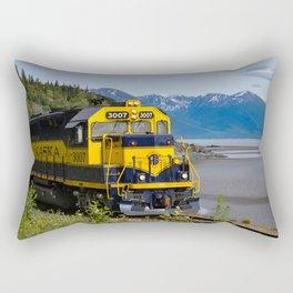 5298 - Alaska Passenger Train Rectangular Pillow