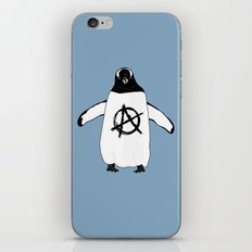 Anarchy in the Antarctic iPhone Skin