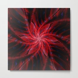 Jungleflower Metal Print