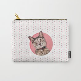 Curious Kitty Carry-All Pouch