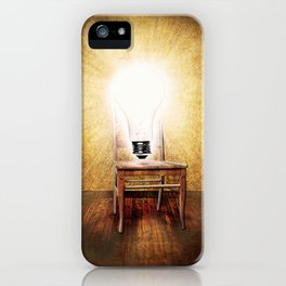 The Seat of Big Ideas iPhone Case