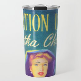 Destination Unknown - Agatha Christie Travel Mug