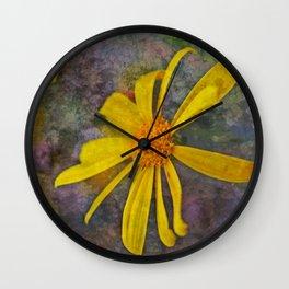 Romanesque Daisies Wall Clock