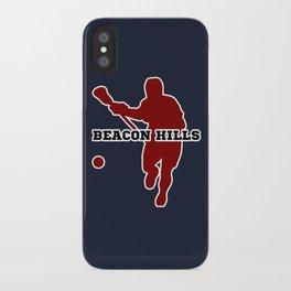 Beacon Hills Lacrosse iPhone Case