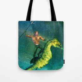 King of the Sea Superfriend Tote Bag