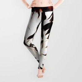 FLAMES AND FLOWES Leggings