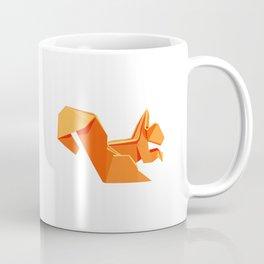 Origami Squirrel Coffee Mug
