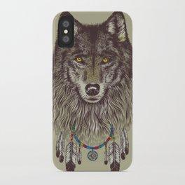 Wind Catcher Wolf iPhone Case