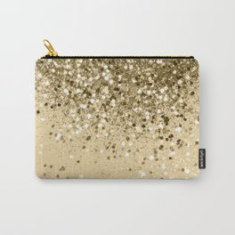 Cali Summer Vibes Lady Glitter #1 #shiny #decor #art #society6 Carry-All Pouch
