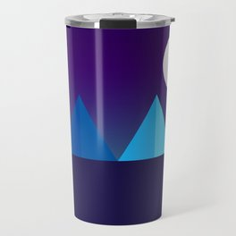 Pyramids in Moonlight Travel Mug