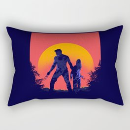 X Weapons Rectangular Pillow