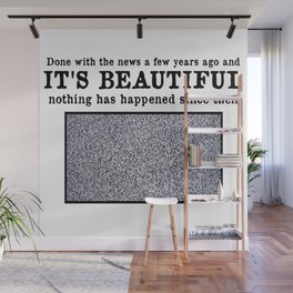 World Without News Wall Mural