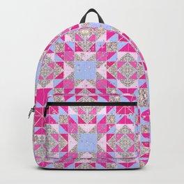Glitter geo Backpack