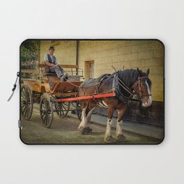 Horse And Cart Laptop Sleeve