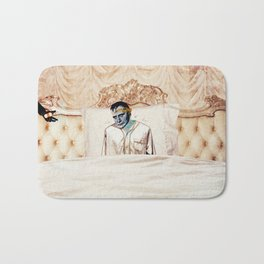 Arsenic and Old Lace Bath Mat