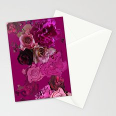 Winter Roses Stationery Cards