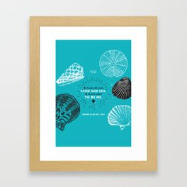 A place to be me Framed Art Print