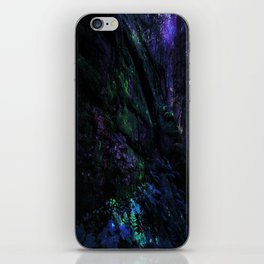 Midnight Enchantment : Forest Wall iPhone Skin
