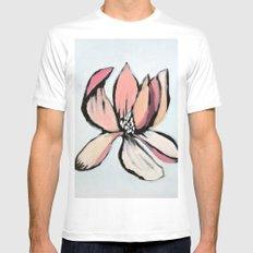 Magnolia Mens Fitted Tee White MEDIUM
