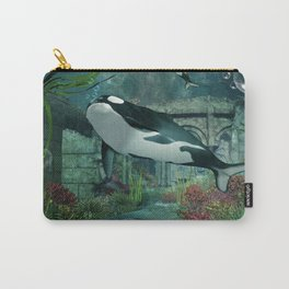 Wonderful orca Carry-All Pouch