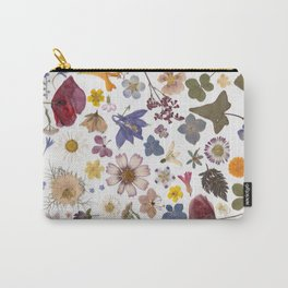 Pressed hearts Carry-All Pouch