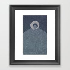 All Things Are One Framed Art Print