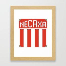 Liga MX; Necaxa Framed Art Print