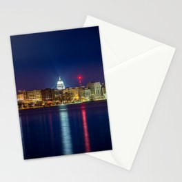 Madison at Night Stationery Cards
