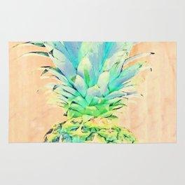 Pastel Pineapple Rug