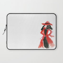 Carmen San Diego Laptop Sleeve