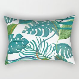 tropical diferent leaves Rectangular Pillow