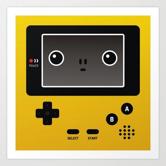 Game boy color Art Print