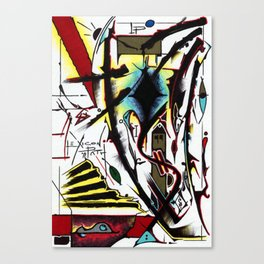 Lexicon Path - Kelwin Inkwel Canvas Print