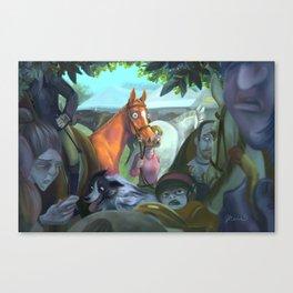 First Show Canvas Print