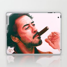 Mr Downey, Jr. Laptop & iPad Skin