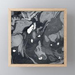 Marble Love 001 Framed Mini Art Print
