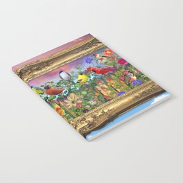 Birds and Blooms Notebook