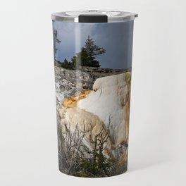 Mammoth Hot Spring Colors Travel Mug