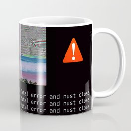Fatal Simulation Error Coffee Mug